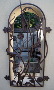 Iron work - window grate